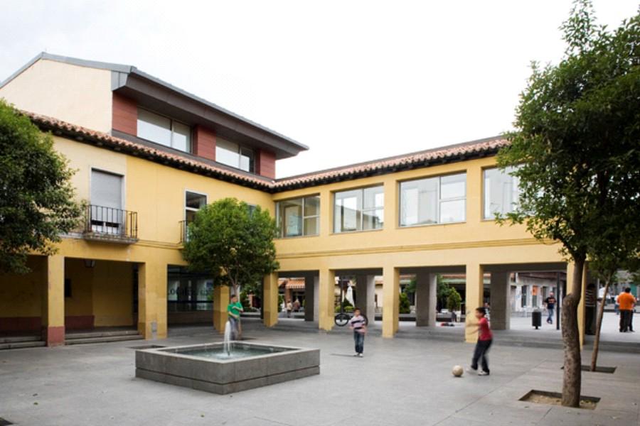 Obra en el ayuntamiento de boadilla del monte estudio de - Residencia boadilla del monte ...